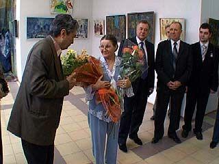 В Воронеже открылась выставка работ Нины Гапоновой
