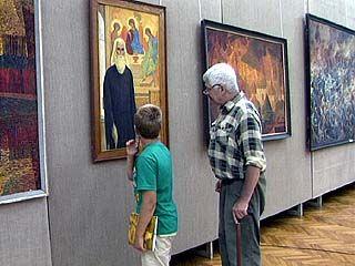 В Воронеже открылась юбилейная экспозиция Василия Криворучко