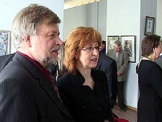 В Воронеже открылась юбилейная выставка художника Сергея Гулевского