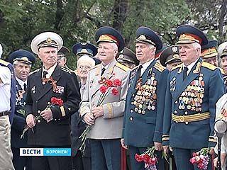 В Воронеже отметили 67 годовщину великой Победы