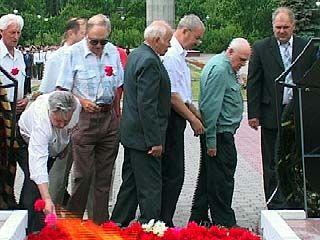 В Воронеже отметили День памяти и скорби