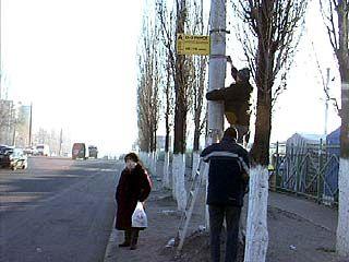 В Воронеже переносят остановки