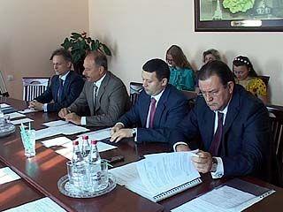 В Воронеже побывала делегация Внешэкономбанка
