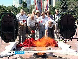 В Воронеже почтили память павших во время Великой Отечественной