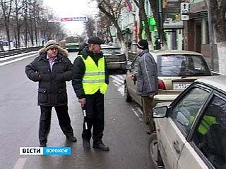 В Воронеже продолжается борьба с несанкционированными парковками