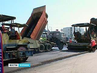 В Воронеже продолжается гарантийный ремонт дорог