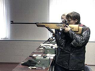 В Воронеже проходит чемпионат области по пулевой стрельбе