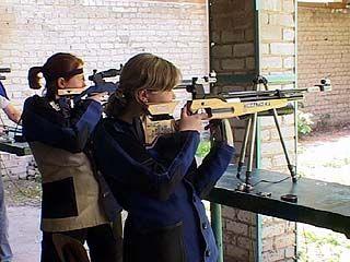 В Воронеже проходит спартакиада молодежи России по пулевой стрельбе