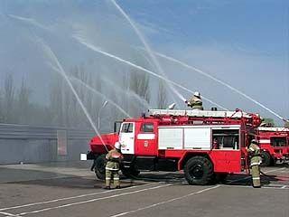 В Воронеже проходит заключительный этап смотра-конкурса пожарных