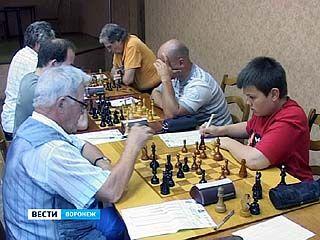В Воронеже проходят соревнования по шахматам памяти Владимира Загоровского
