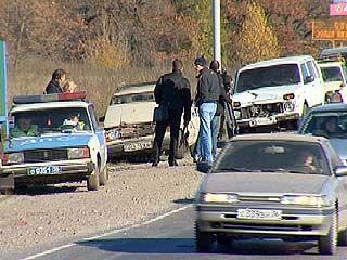 В Воронеже произошло ДТП с участием 15 машин