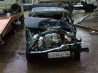 В Воронеже произошло крупное ДТП, столкнулось 5 автомобилей