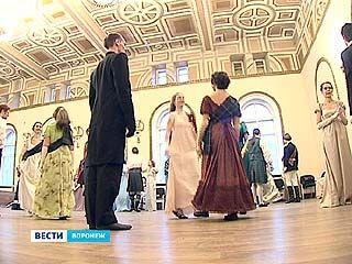 В Воронеже прошел бал, воссоздавший событие 1822 года