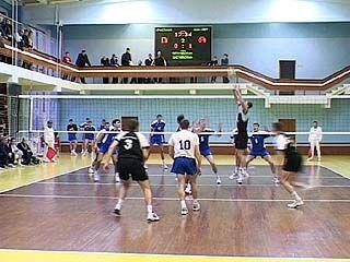 В Воронеже прошел день волейбола