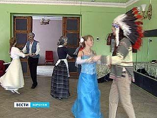 В Воронеже прошел костюмированный бал в духе дикого запада