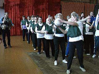 В Воронеже прошел праздник спорта для пожилых людей