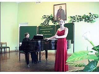 В Воронеже прошел вечер вокальной музыки