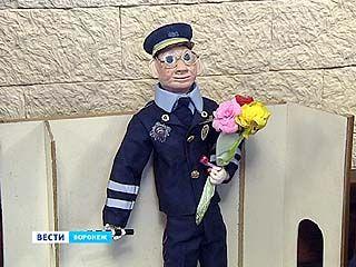 В Воронеже прошёл детский конкурс на лучшего игрушечного полицейского