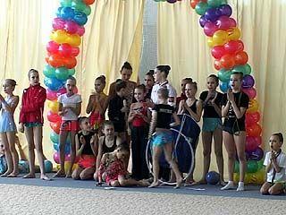 В Воронеже прошёл открытый турнир по художественной гимнастике