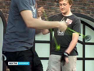 В Воронеже прошёл первый городской чемпионат по игре с йо-йо