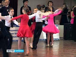 В Воронеже прошёл юбилейный турнир по спортивным танцам