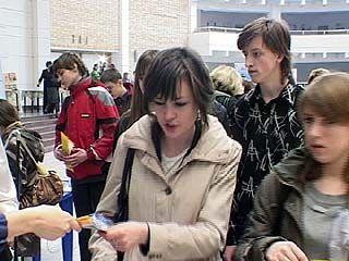 В Воронеже прошла ярмарка вакансий для школьников