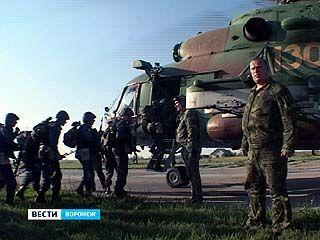 В Воронеже прошли лётно-тактические учения