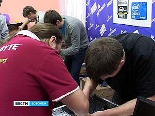 В Воронеже прошли необычные, высокотехнологичные соревнования
