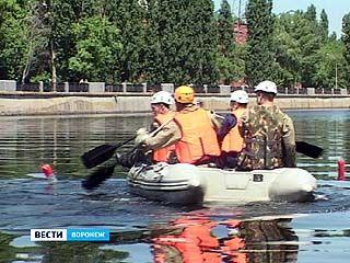 В Воронеже прошли областные соревнования аварийно-спасательных групп МЧС