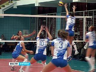 В Воронеже прошли очередные игры чемпионата России по волейболу