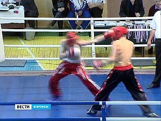 В Воронеже прошли первенство и чемпионат области по кикбоксингу