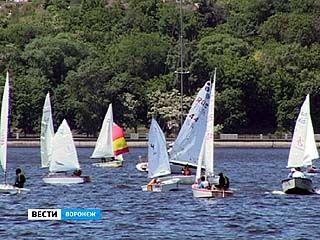 В Воронеже прошли первые в этом сезоне соревнования по парусному спорту
