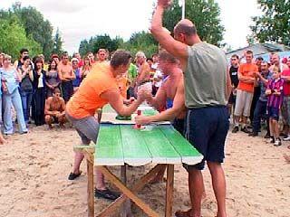 В Воронеже прошли семейные состязания