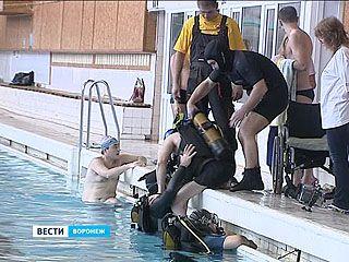 В Воронеже прошли соревнования по парадайвингу в канун дня инвалидов