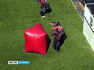 В Воронеже прошли соревнования по спортивному пейнтболу