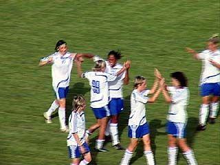 В Воронеже прошли три матча женского Чемпионата России по футболу