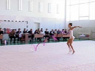 В Воронеже прошло областное первенство по художественной гимнастике