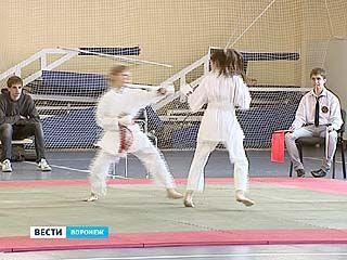 В Воронеже прошло открытое первенство по каратэ среди детей