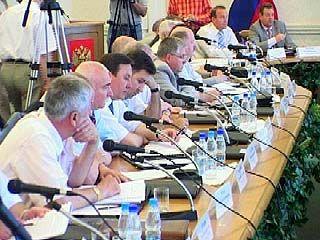 В Воронеже прошло заседание Координационного совета