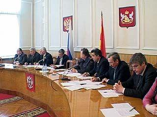 В Воронеже прошло заседание транспортной комиссии