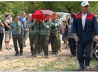 В Воронеже простились с участником миротворческой миссии в Южной Осетии