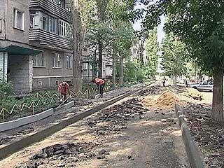 В Воронеже проведут капитальный ремонт дворов
