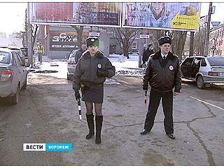 В Воронеже провели масштабный рейд по безопасности дорожного движения
