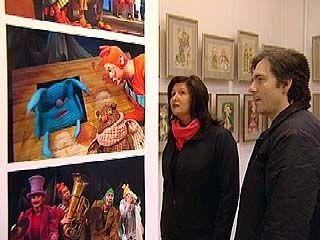 В Воронеже работает выставка Александра Ечеина