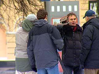В Воронеже работала съемочная группа из Германии