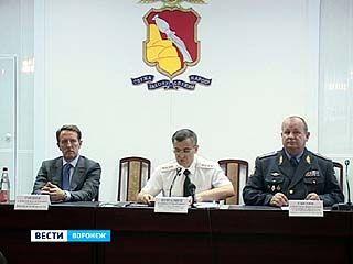 В Воронеже с рабочим визитом побывал министр МВД России Рашид Нургалиев