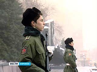 В Воронеже школьники заступили на пост ╧1