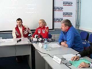 В Воронеже состоялась пресс-конференция по итогам зимних Олимпийских игр