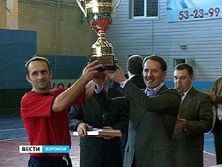 В Воронеже состоялась решающая игра областного турнира по мини-футболу