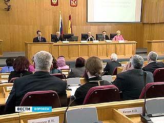 В Воронеже состоялось первое пленарное заседание общественной палаты